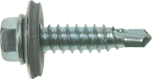 A2 Stainless Steel Hex Self Drilling (Tec) Screws Light/Heavy Section