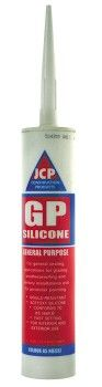 Brown General Purpose Silicone Sealant 300ml