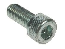M10 x 45 Socket Capscrews Grade 12.9 DIN 912 BZP Packed In 10's