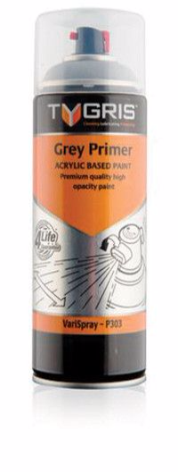 P303 Grey Primer Paint Vari-Spray 400ml