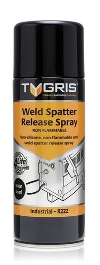 R222 Weld Spatter Release  Spray (Water Based) 400ml